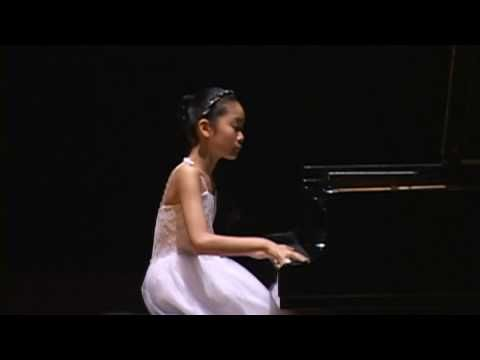 "Tiffany Poon (11) - Beethoven ""Waldstein"" 3rd movement Tiffany Poon, age 11, performs a solo recital at the Great Hall, Krannert Center in Illinois, Urbana-Champaign on Nov. 16, 2008."