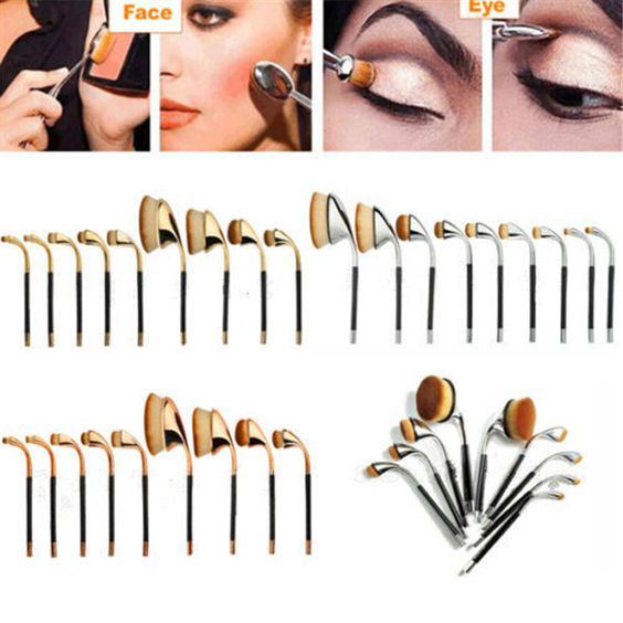 Do you know this wew golf oval toothbrush makup brush set? Just get it on www.sofeelbeauty.com, contact Tina whatsapp +8615602979577