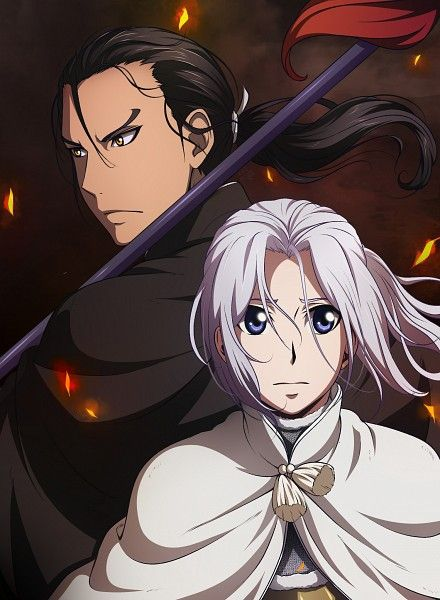 You can easily tell Prince Arslan's personality in this picture.