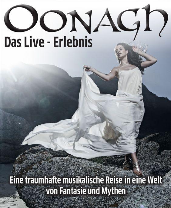 Oonagh - Eine traumhafte musikalische Reise in eine Welt voller Fantasie und Mythen - Tickets unter: www.semmel.de