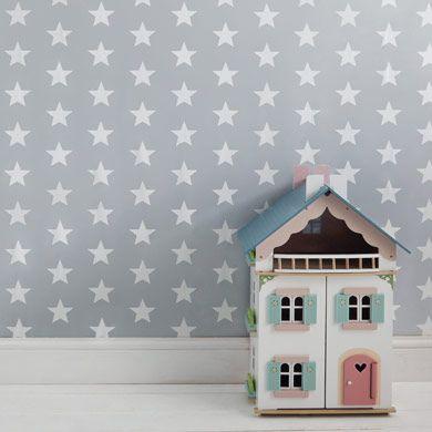 wallpaper kids 39 wallpaper home decorating children 39 s bedroom star