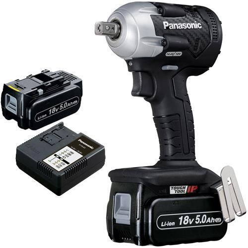Panasonic Ey75a8 18v 280nm Impact Wrench 2x 5ah Instrument Masterskaya