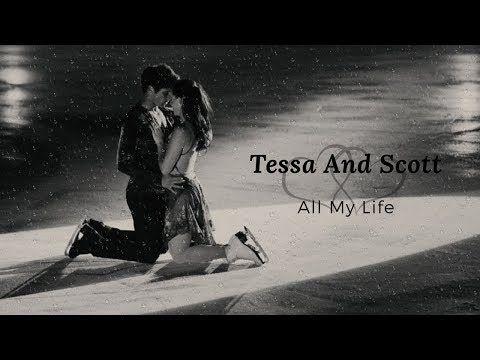 Tessa And Scott All My Life Youtube Tessa And Scott My Life Shayne Ward