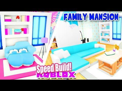 Perfect Family Mansion Speed Build In Adopt Me Roblox House Home Youtube In 2020 Cute Room Ideas Baby Room Neutral Adoption