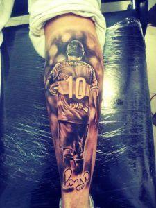 Tatuagem Na Panturrilha Masculina 2 150x200 Fußball Tattoo