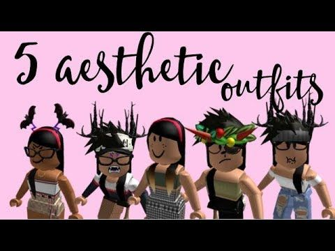 5 Aesthetic Roblox Girl Outfits Pt 2 Youtube Aesthetic Grunge Outfit Girl Outfits Roblox Womens clothes miami over roblox outfit ideas 2019 if. 5 aesthetic roblox girl outfits pt 2