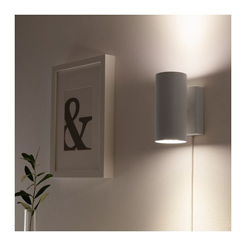 Nymane Wall Up Downlight White Ikea Wall Lights Wall Lamps