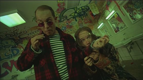 My Favourite Scene From Fear And Loathing In Las Vegas Trippy Movies Fear And Loathing Dutch Angle