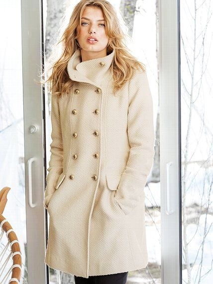 Image detail for -Coats: White Long Ladies Winter Coats - Cute