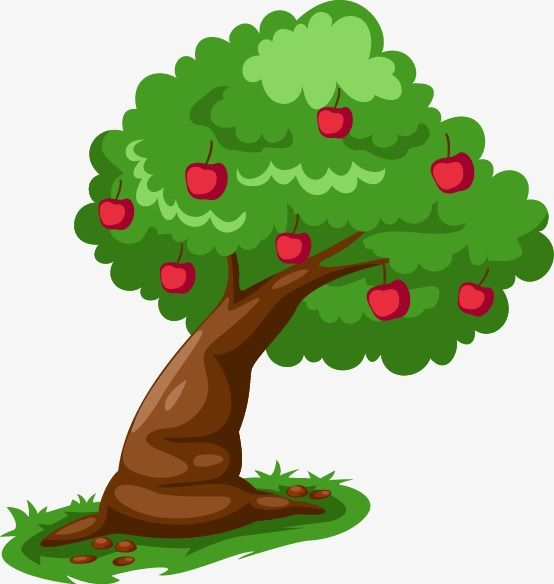 Painted Red Apple Tree Pattern Apple Tree Clipart Apple Vector Tree Vector Png And Vector With Transparent Background For Free Download Family Tree Painting Christmas Tree Painting Blossom Tree Tattoo