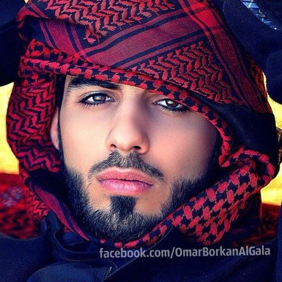 Omar Borkan Al Gala was kicked out of Saudi Arabia because the government was afraid women wouldn't be able to control themselves around him. oohhh laaa..lol..no one was holding me back lma