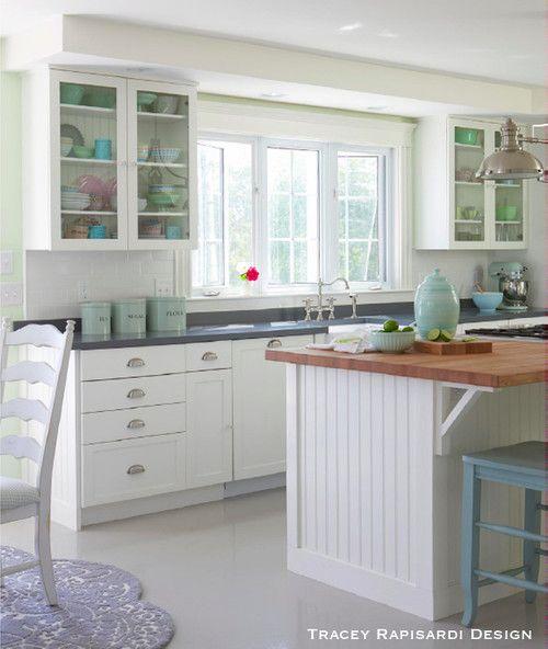 Tours Beach Styles Style Home Beaches House Kitchens Cottage Kitchens