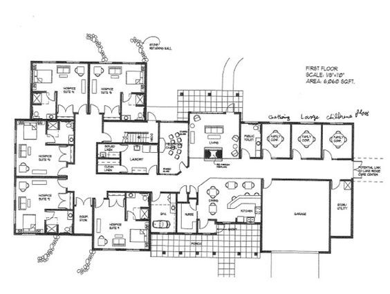 big home blueprints Open Floor Plans from Houseplanscom House