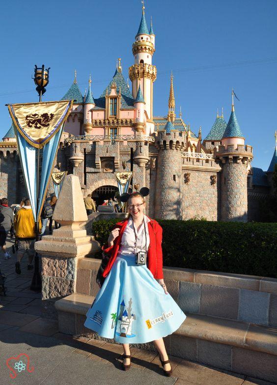The Disneyland Skirt Makes Its Debut | Atomic Redhead