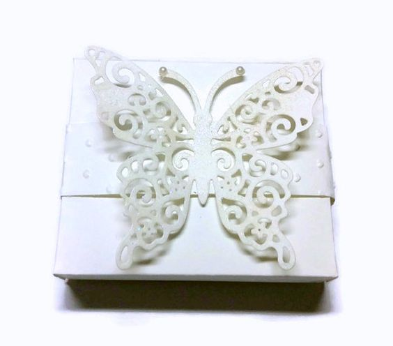 Wedding Shower Favor Boxes  Set Of Twenty by RJsPaperPlay on Etsy