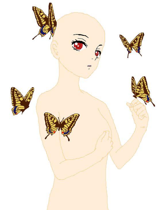 45++ Anime butterfly info
