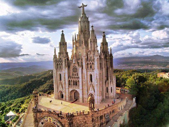 Tibidabo, Barcelona, Spain  Spain, Portugal & Morocco  Pinterest  Barc...