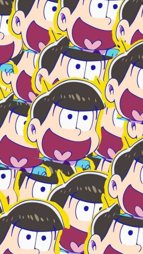 おそ松さん2 iPhone壁紙 Wallpaper Backgrounds iPhone6/6S and Plus おそ松カラ松チョロ