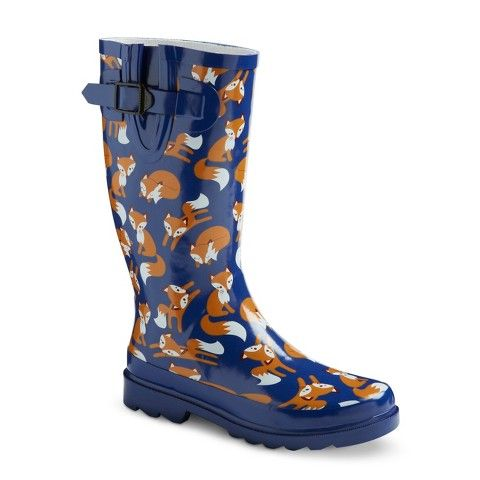 Target has cute rain boots - who knew? Women's Rain Boots - Navy ...