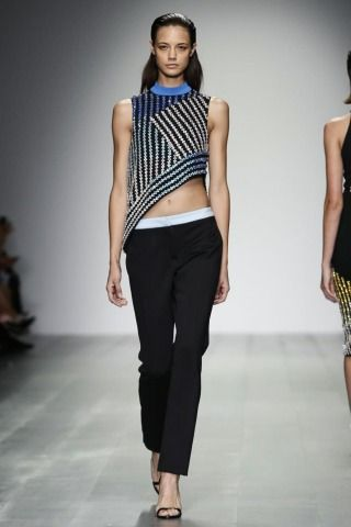 London Womenswear S/S 2015  David KomaCollections - SHOWstudio - The Home of Fashion Film