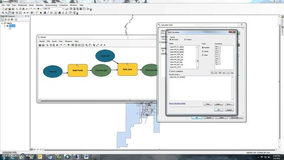 ArcGIS/QGIS Intro to Model Builder  Join and calculate field