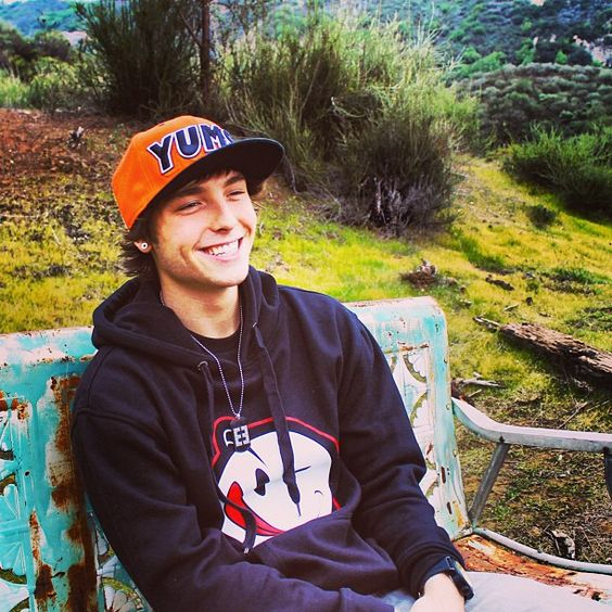 Wesley Stromberg, his smile is seriously captivating :)