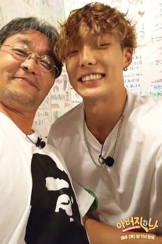 Bobby And His Dad Ikon Ikon Kpop Kim Hanbin Ikon