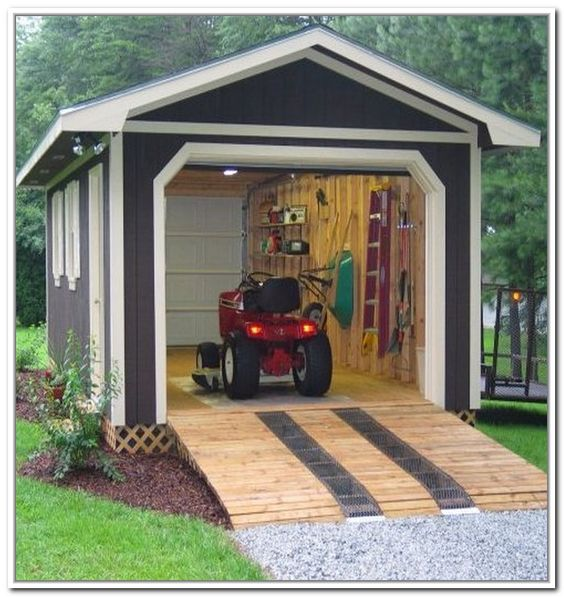 Garden storage sheds sheds pinterest gardens on the for Portable outside storage sheds