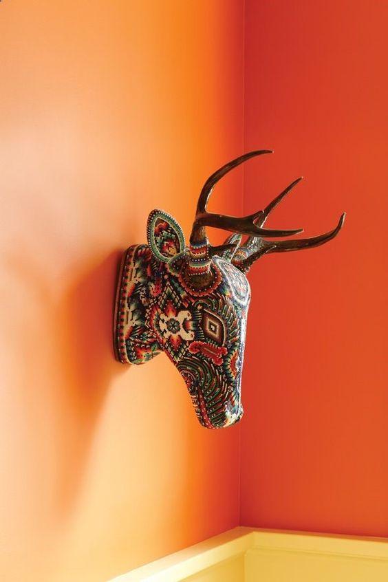 How I Live With Mexican Folk Art Zinnia Folk Arts Cute