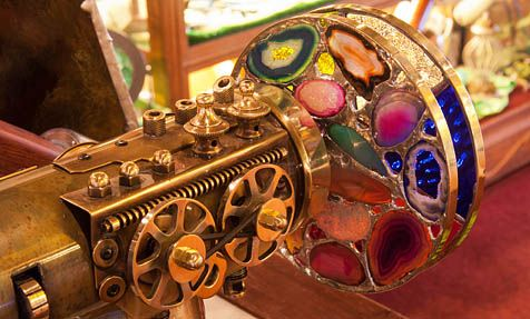 Nellie Bly Kaleidoscopes and Art Glass in the Historic town of Jerome, Arizona