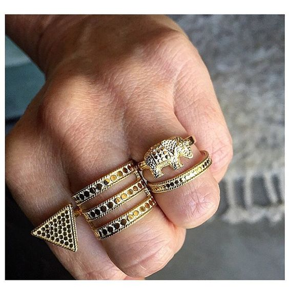 For the love of elephants #Fall15 #WhatsNew #Love #Strength #Loyalty #Gold #Jewelry #AnnaBeck