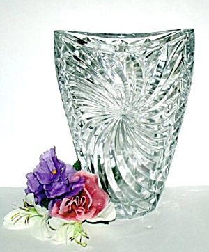 Pinwheel Crystal Vase Studio Nova Div Of Mikasa For The Home Pinterest Studios Crystal
