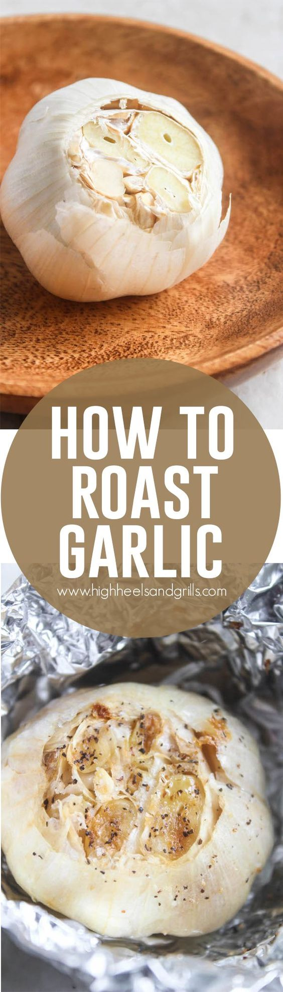 How to roast, Roasts and Garlic on Pinterest
