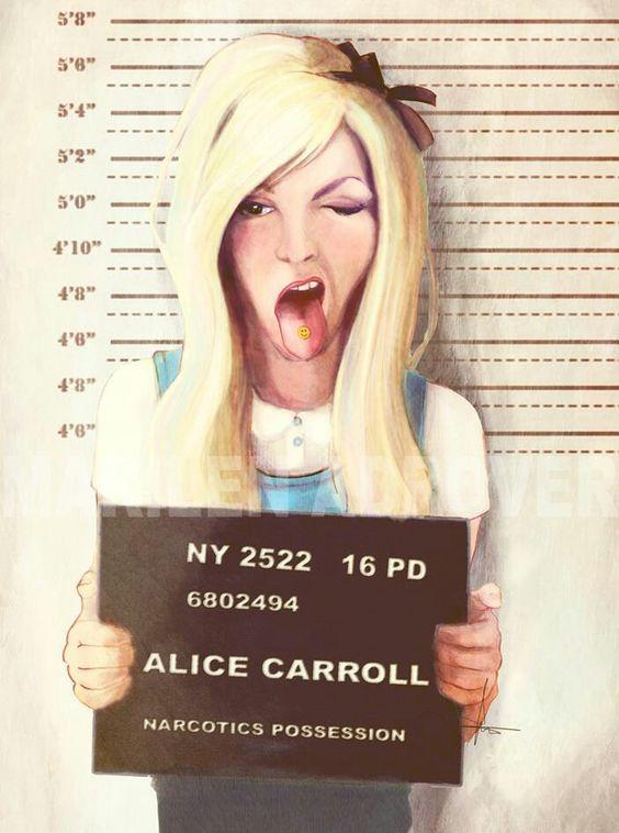 Alice aux pays des merveilles.