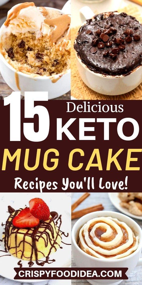 keto mug cake recipes