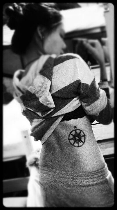 #compass #tattoo placement is pretty good too