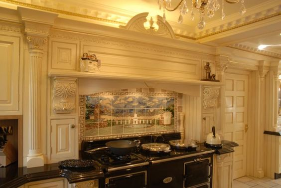 Victorian kitchen victorian and traditional kitchens on for Traditional victorian kitchen designs