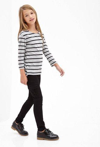 Cargo-Pocket Skinny Jeans (Kids) | Forever 21 girls - 2000138020