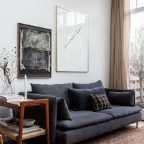 Dark Grey Sofa Living Room Decor