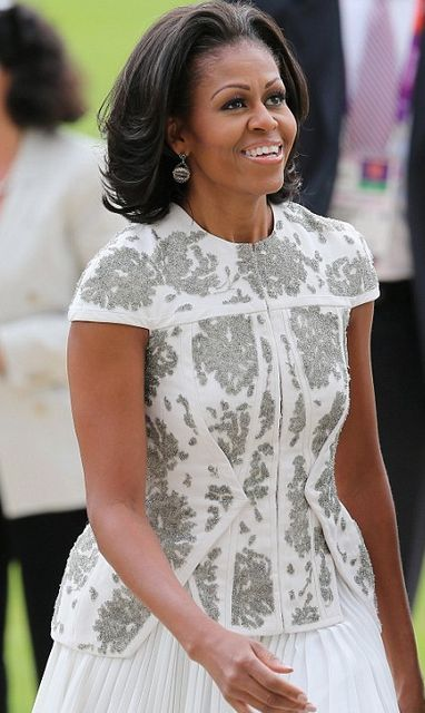 Michelle Obama DAZZLES With AMERICAN PRIDE At 2012 London Olympics, Hangs With David Beckham And GREETS The Queen | The Young, Black, and Fabulous