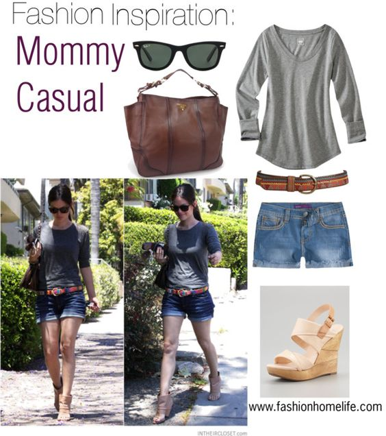 Fashion Inspiration: Mommy casual