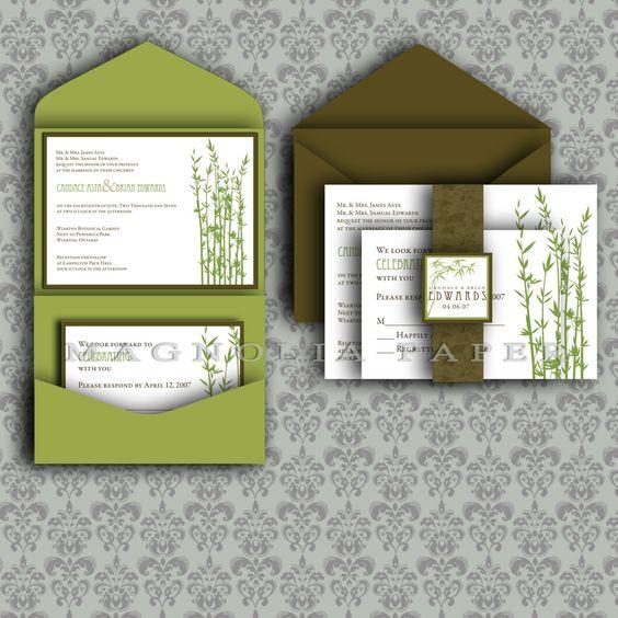 DIY Wedding Invitations Templates | ... outdoors wedding invitation wedding back: diy wedding invitations