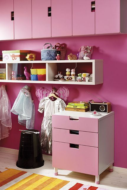 Pink room for a little princess