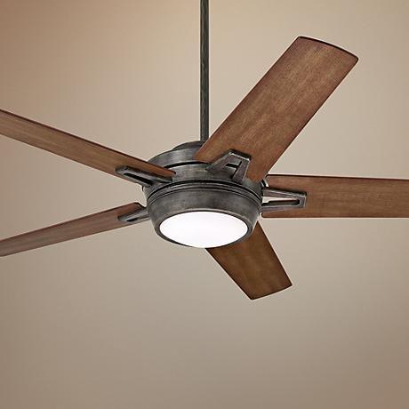 54 emerson southtowne vintage steel ceiling fan vintage for Farmhouse ceiling fan