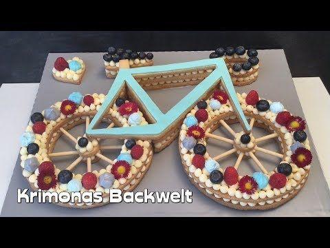 Fahrrad Keks Torte Bicycle Cake Bike Cookie Cake Bicicletta
