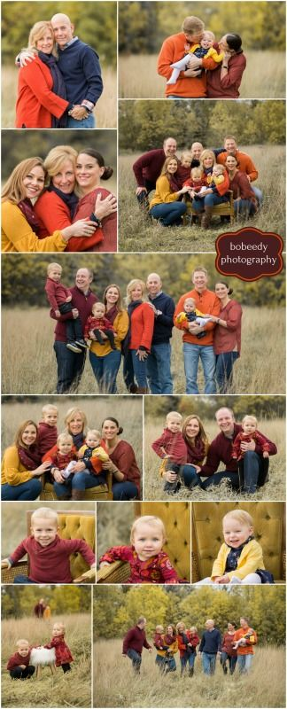 Fall Colors For Family Pictures : colors, family, pictures, Bobeedy, Photography, Large, Family, Photo, Session, Sessions, Colors, Photos,, Shoot, Ideas,