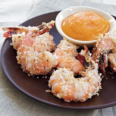 Coconut Shrimp with Mango Sauce | CookingLight.com