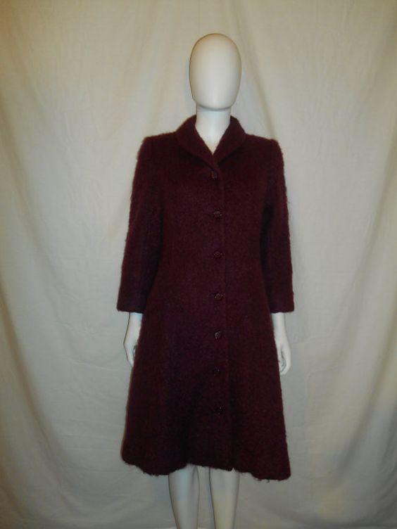 Vintage Beautiful Wool Jacket Coat LUBA by ATELIERVINTAGESHOP