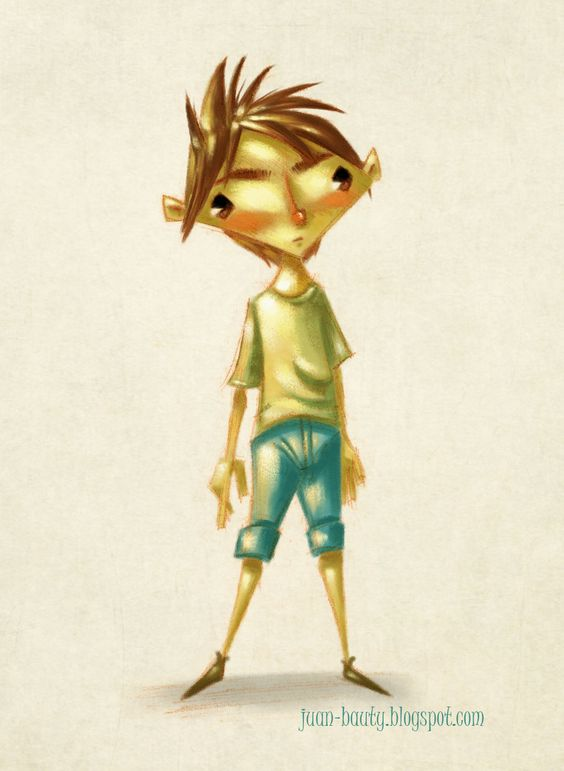 Boy. art by  © 2012 Juan Bauty
