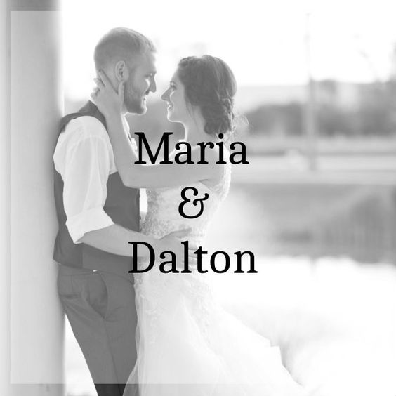 Maria+&+Dalton